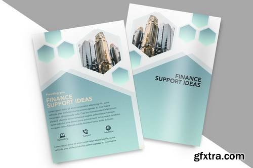 A4 Brochure Mock Up
