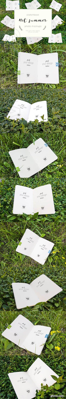 Hot Summer - Sketchbook mock up set