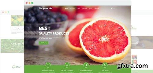 JoomShaper - Organic Life v1.9 - Eco-Friendly Businesses & e-Commerce Joomla Template