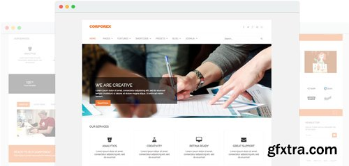 JoomShaper - Corporex v2.2 - Agency & Business Joomla Template