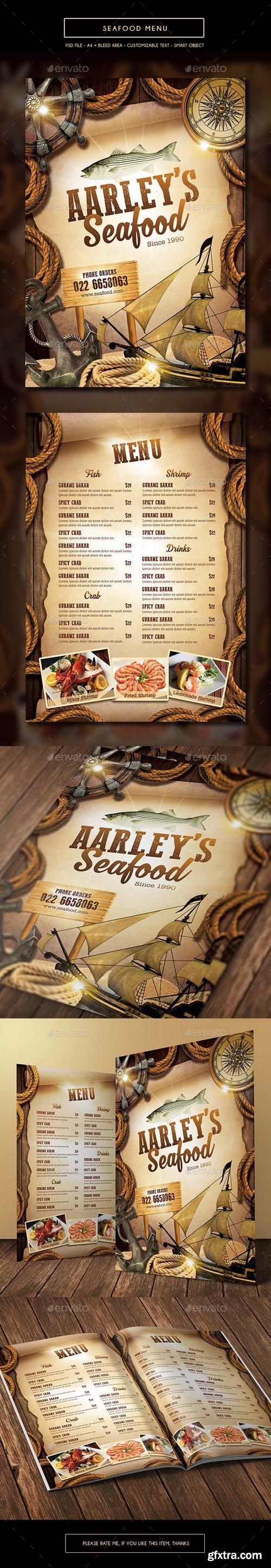 Graphicriver - Seafood Menu Template 15723952