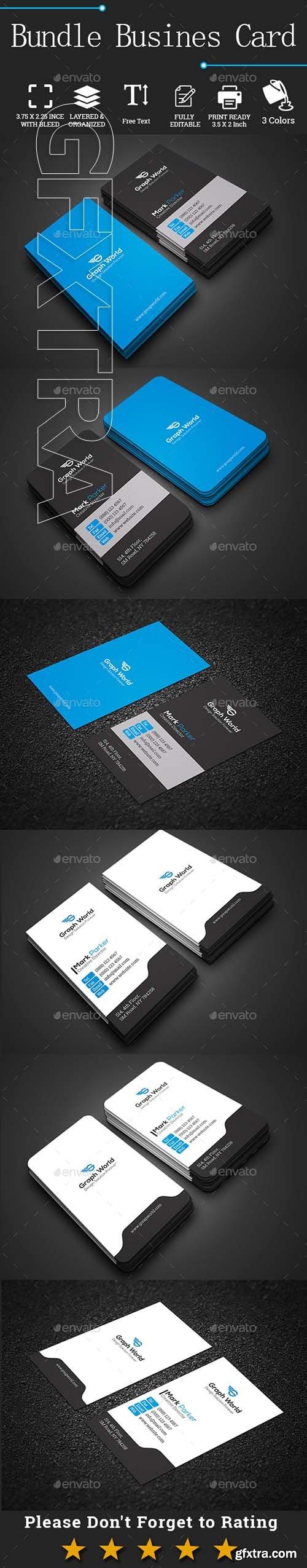 GraphicRiver - Bundle Business Cards 22135515