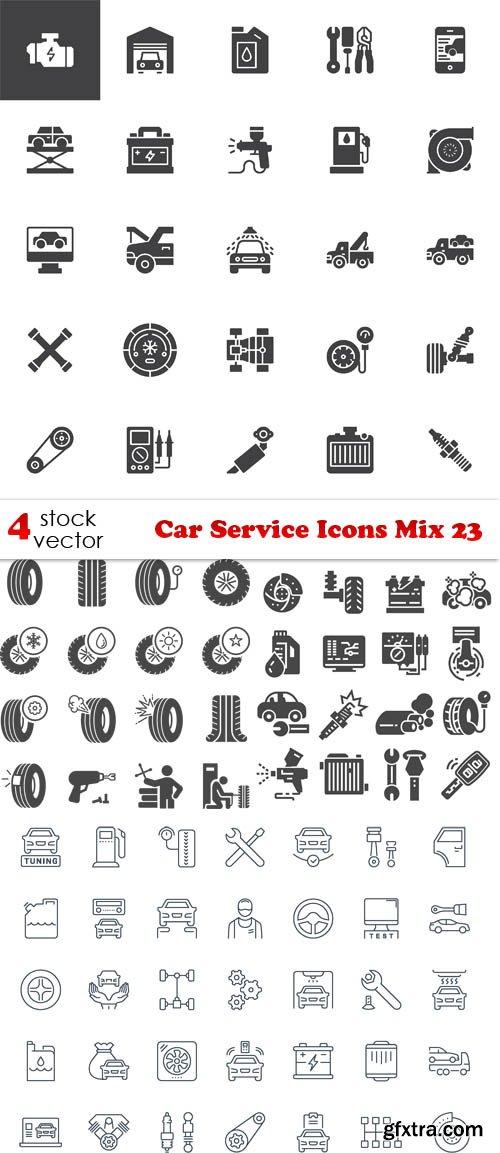 Vectors - Car Service Icons Mix 23