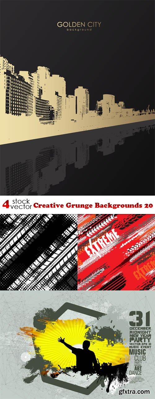 Vectors - Creative Grunge Backgrounds 20