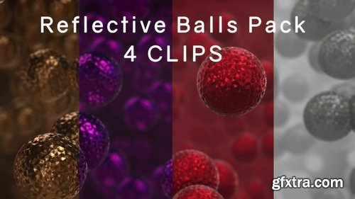 Videohive Reflective Balls Pack 21538026