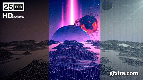 Videohive Terrain Retro And VHS Pack 20538523