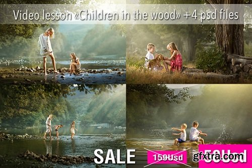 Dmitry Usanin - Children in the wood: Post Proccesing Video
