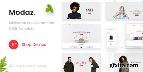 ThemeForest - Modaz v1.0 - Minimalist eCommerce HTML Template - 22089511