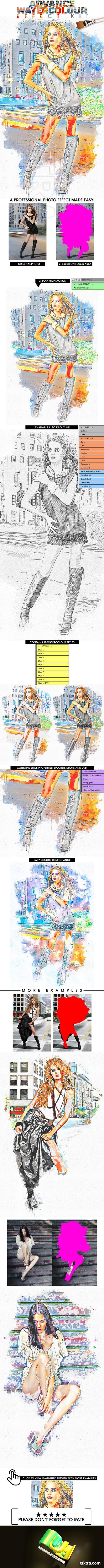 GraphicRiver - Advance Watercolour Effect Kit 22111988