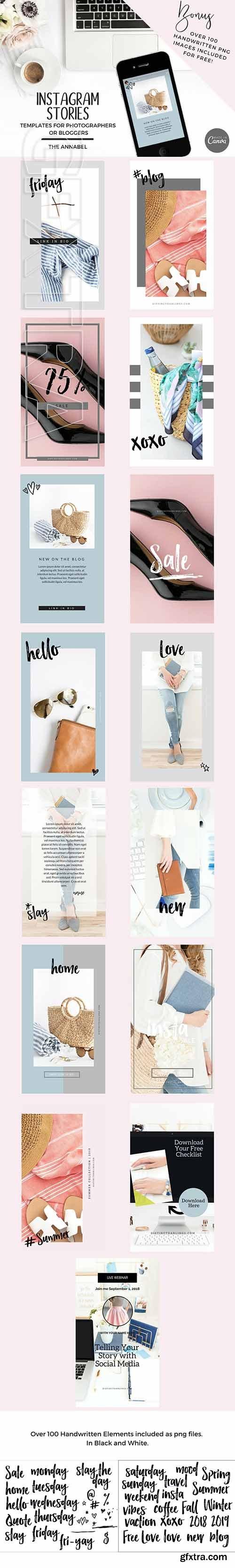 CreativeMarket - Canva Instagram Stories Template 2709473