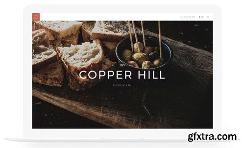 YooTheme - Copper Hill v1.13.0 - Joomla Template