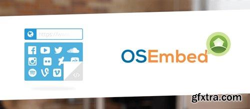 OSEmbed Pro v1.4.5 - Joomla Embeds Extension