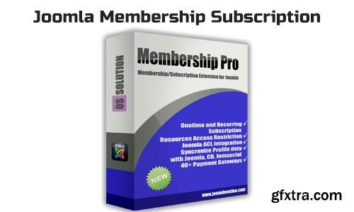 OS Membership Pro v2.14.2 - Joomla Membership Subscription