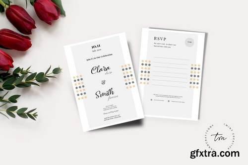 Wedding Invitation & RSVP Cards