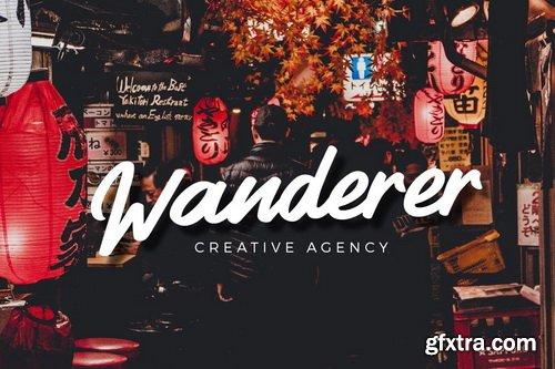 Vendora - Handmade Font