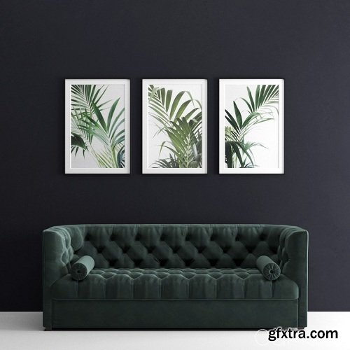 Green Velvet Chester Sofa And Frames