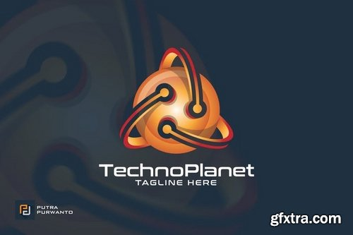 Techno Planet - Logo Template