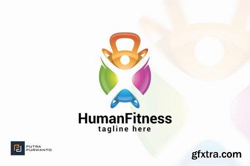 Human Fitness - Logo Template