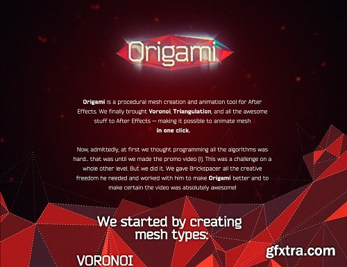 Origami 1.2.1 For After Effects
