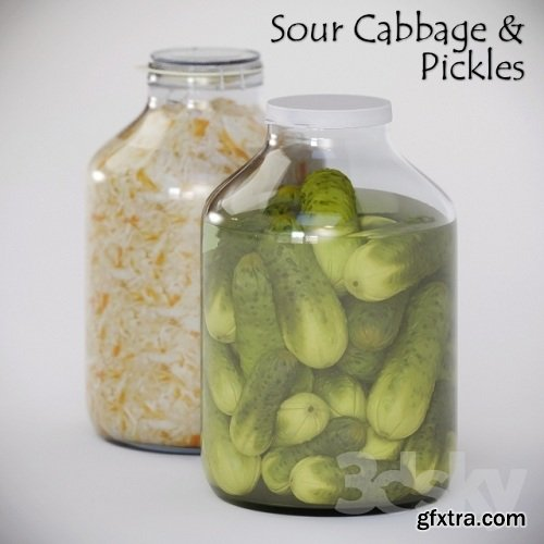 Homemade Pickles & Sour Cabbage