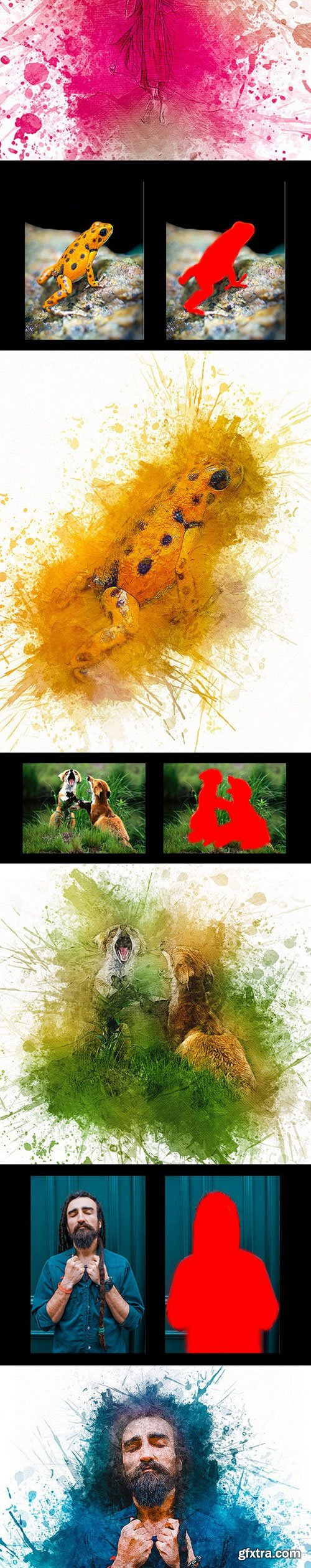 Graphicriver - Abstract Ink Painting 21714322