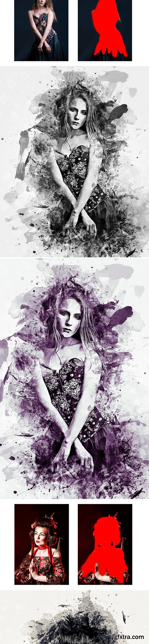 Graphicriver - Modern Art photoshop action 21836053