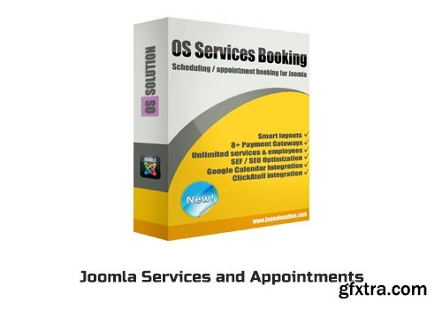 OS Services Booking v2.6.0 - Joomla Services and Appointments