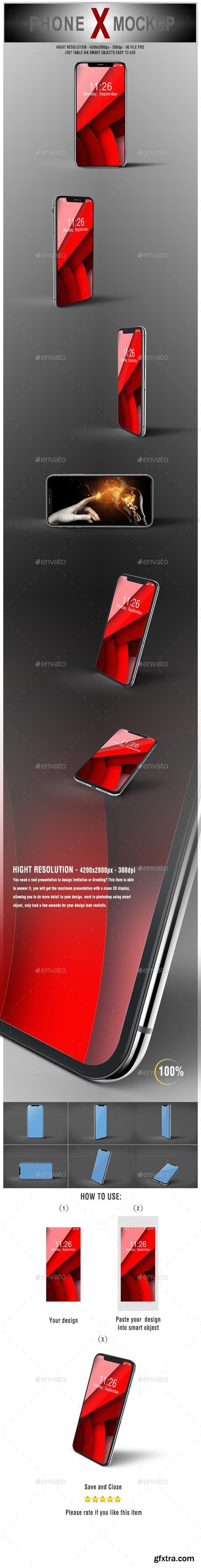 GraphicRiver - Phone X Mockup - 20751807