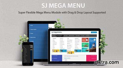 SmartAddons - SJ Mega Menu v4.0.0 - Drag & Drop   Mobile Optimized Joomla Module