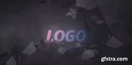 Logo With A Broken Glass Wall - After Effects 91221
