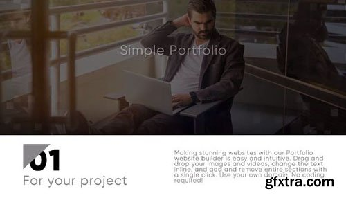 Simple Portfolio - After Effects 91226