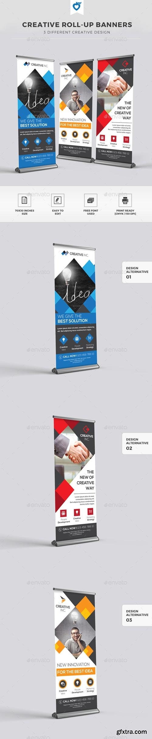 GraphicRiver - Creative Roll-up Banners - 11309735