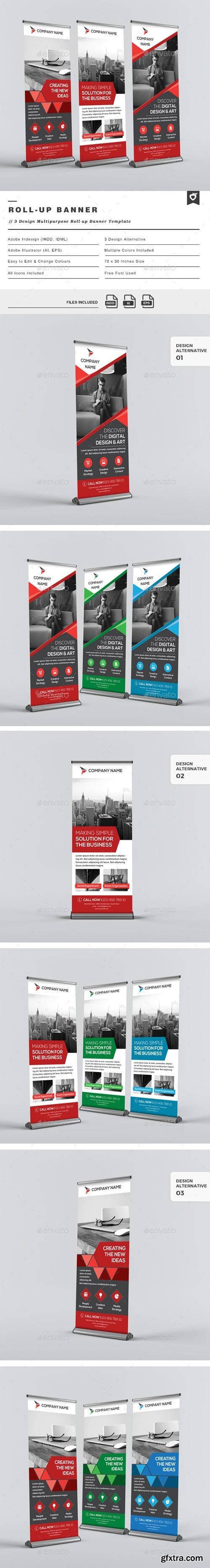 GraphicRiver - Multipurpose Roll-up Banners - 13337309