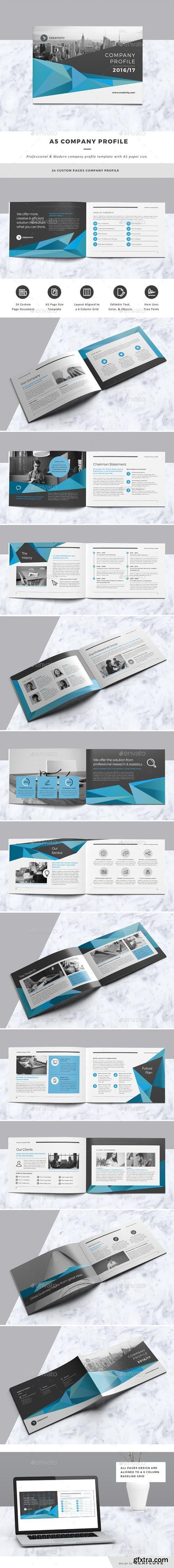 GraphicRiver - Company Profile - 18157636