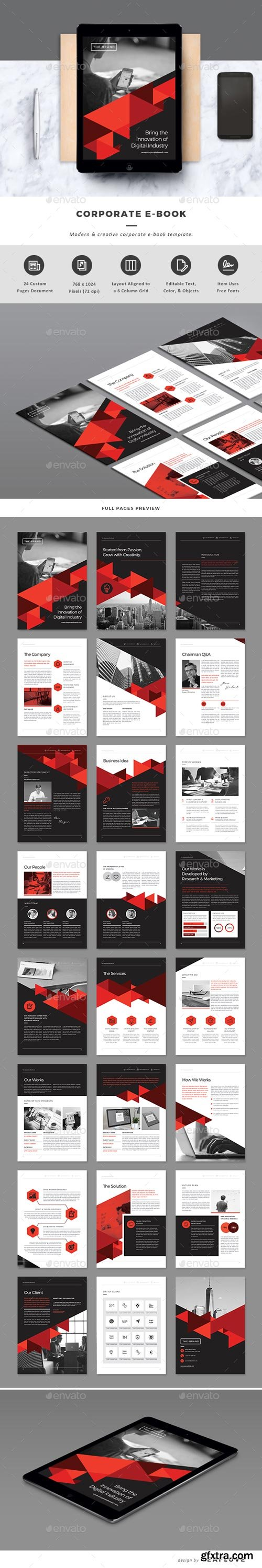 GraphicRiver - Corporate E-Book - 19830302