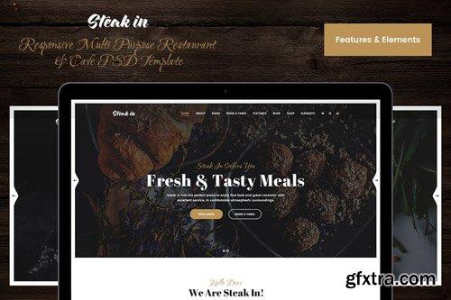Steak In Elements PSD UI Kit