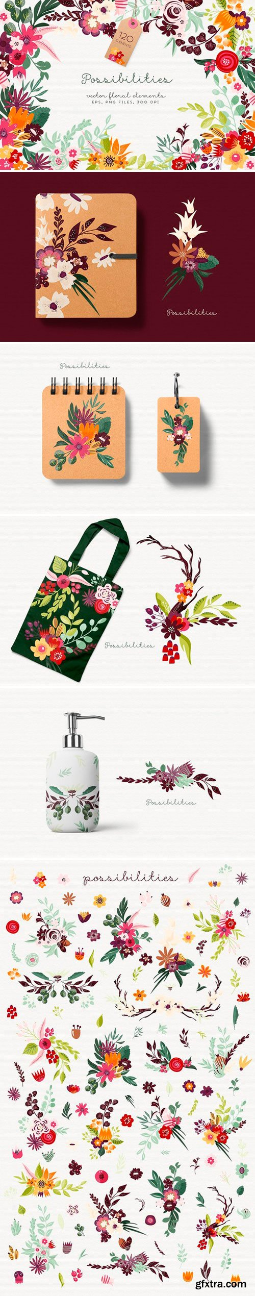 CM - Possibilities - floral elements 1844713