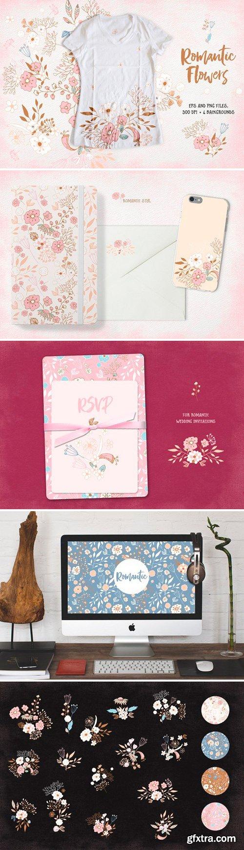 CM - Romantic Flowers 729633
