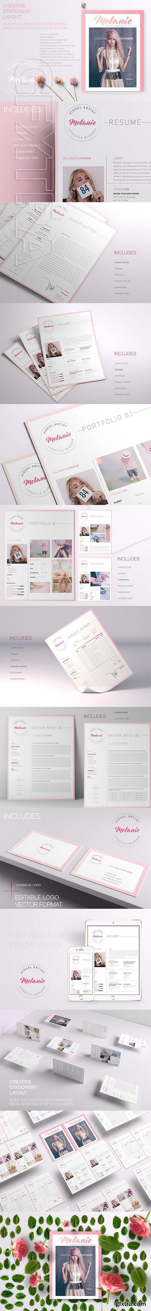 CreativeMarket - Melanie - Creative Stationery 01 2661150
