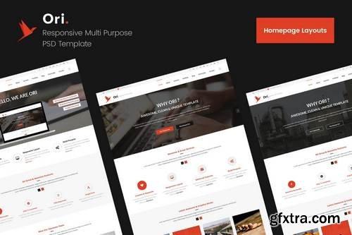 Ori Shop & Ecommerce PSD Template
