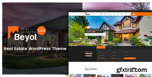 ThemeForest - BEYOT v1.4.0 - WordPress Real Estate Theme - 19514964