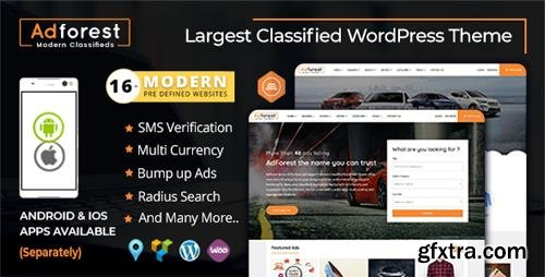 ThemeForest - AdForest v3.2.9 - Classified Ads WordPress Theme - 19481695 - NULLED