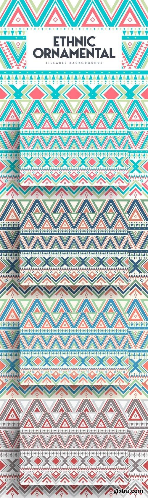 Ethnic Ornamental Tileable Backgrounds