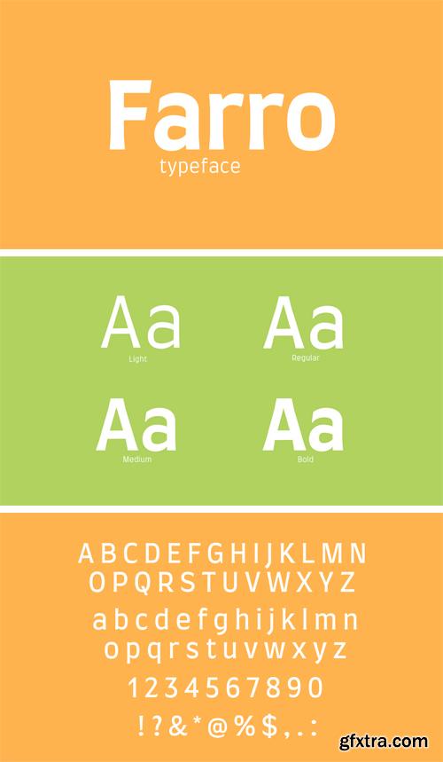 Farro Typeface