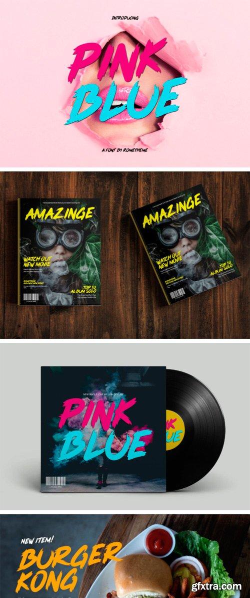 Creativefabrica - Pink Blue