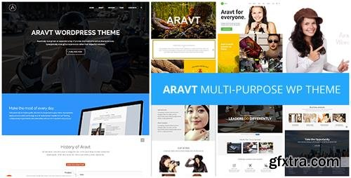 ThemeForest - Aravt v1.4 - Creative MultiPurpose Theme - 11087590