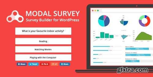 CodeCanyon - Modal Survey v1.9.9.5 - WordPress Poll, Survey & Quiz Plugin - 6533863
