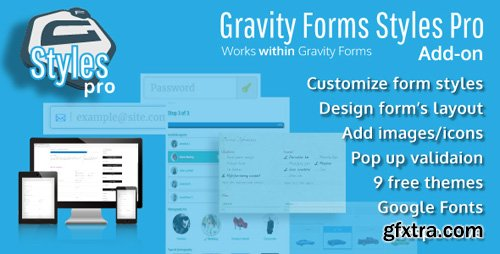 CodeCanyon - Gravity Forms Styles Pro Add-on v2.4.4 - 18880940