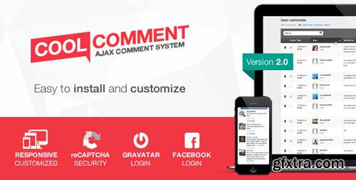 CodeCanyon - Cool comments ajax system v2.0 - 7813622