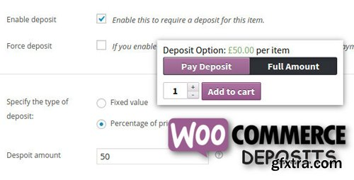 CodeCanyon - WooCommerce Deposits v2.3.1 - Partial Payments Plugin - 9249233